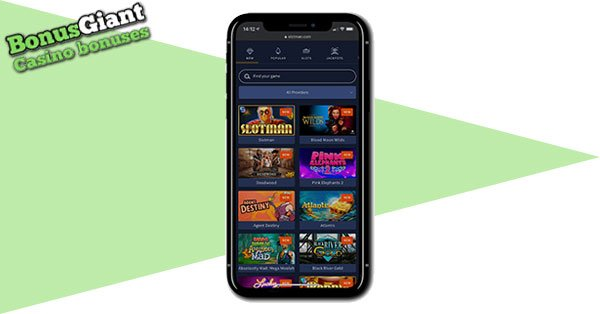 Slotman Casino mobile