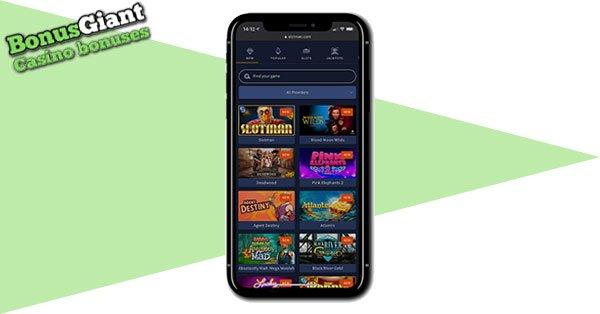 Slotman Casino mobile