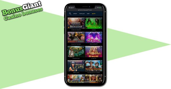 ZigZag777 Casino Mobile Screenshot