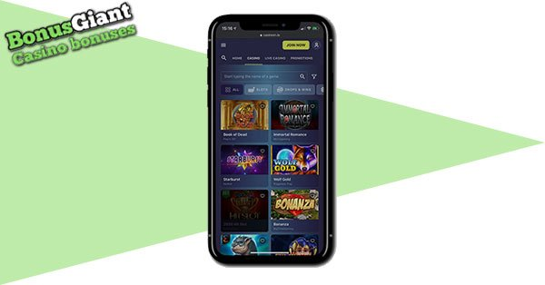 Casinoin Mobile Casino