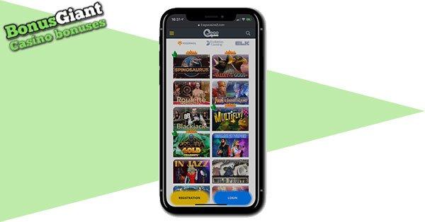 Ego Casino on mobile