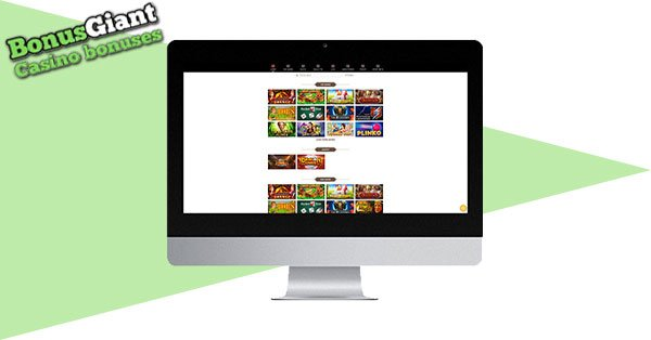 FortuneToWin Casino di desktop