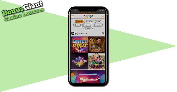 Playigo Casino on Mobile
