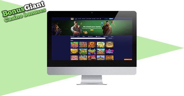 Pokies2Go Casino on desktop