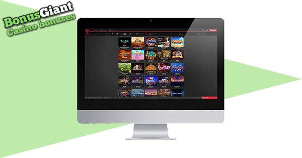 Royal Rabbit Casino on desktop