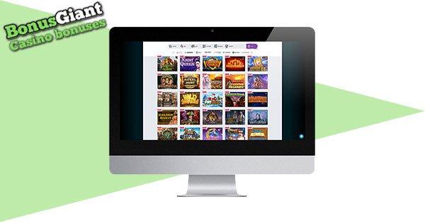 All Reels Casino on desktop