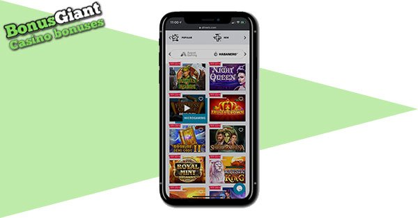 All Reels Casino on mobile