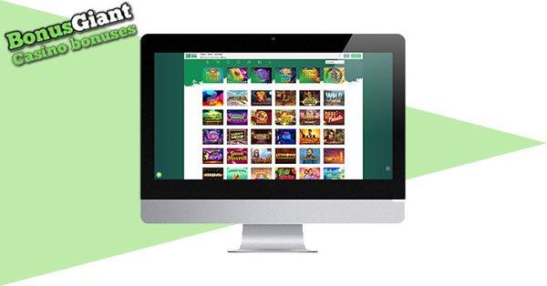 Dozenspins Casino lobby desktop