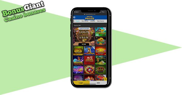 House of Pokies Mobile Gaming