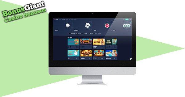 Live Casino Desktop Lobby