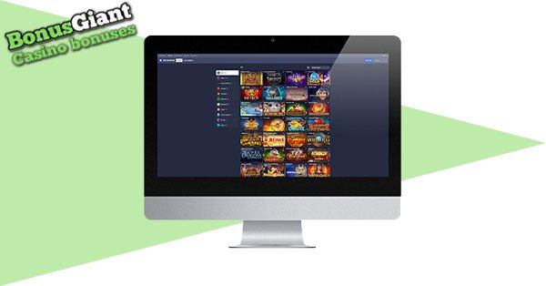 Betmaster Casino Desktop Lobby