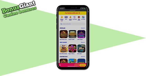 Caxino Casino Mobile games