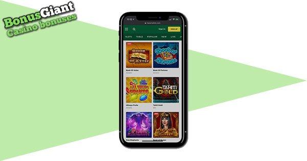 Mason Slots Casino Mobile