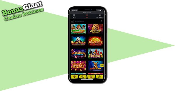 Slottyway Casino on mobile