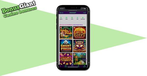 Kasino Rocket Mobile game