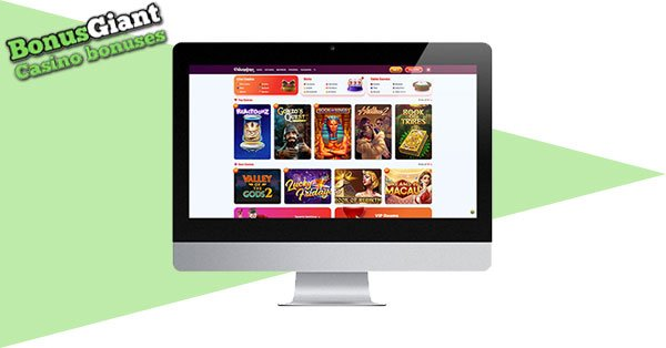 Gransino Casino Desktop Games Lobby
