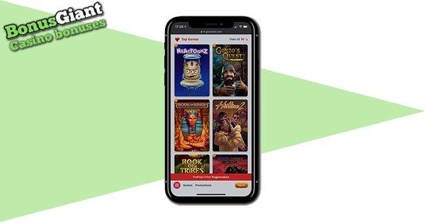 Gransino Casino Mobile Games