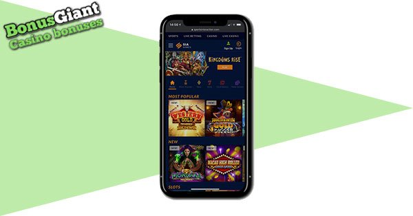 SIA Casino on Mobile