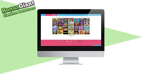 Evolve Casino Desktop games