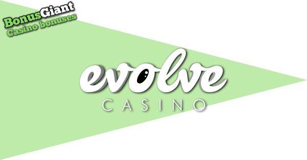 Evolve Casino Logo banner