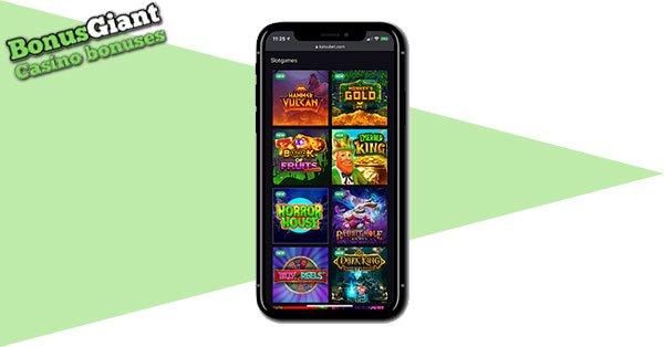 KatsuBet Casino Mobile lobby