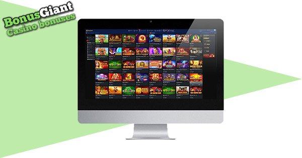 Mozzart Bet Casino Desktop