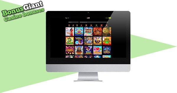 Spin Samurai Casino on desktop
