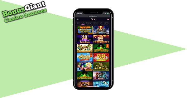 DLX Casino Mobile games