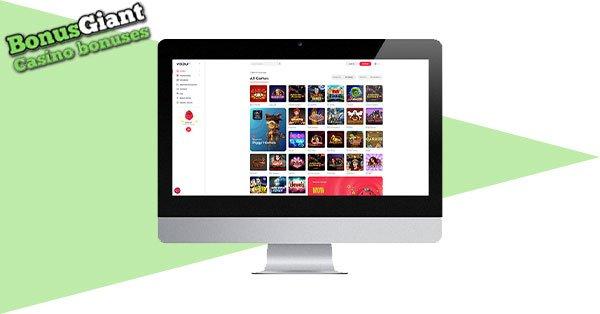 Yoju Casino desktop screenshot