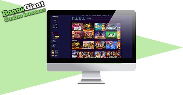 Screenshot Desktop kasino online Casino360