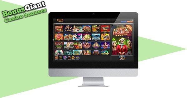 Jackpot Capital Casino Desktop Lobby