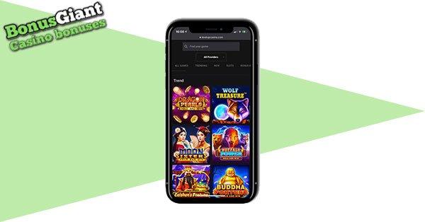 LevelUp Casino Mobile