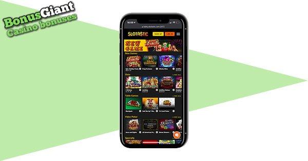 Slotastic Mobile Casino