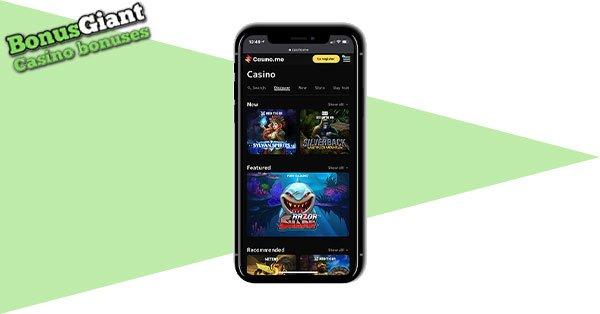 Casino.me Mobile casino