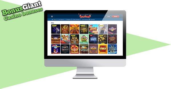 PlayToro Casino Lobby
