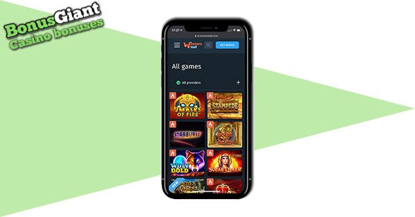 Pemenang Hall Casino Mobile