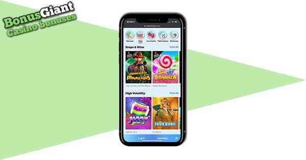 CasinoFriday Mobile
