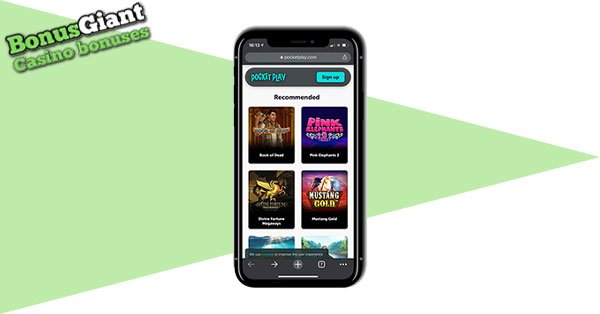 Pocket Play Casino Mobile