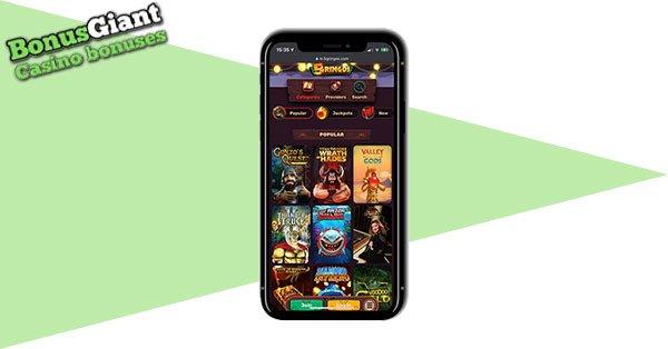 Gringos Casino Screenshot Mobile