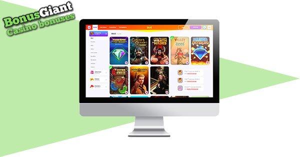 Tangkapan layar 7Signs Casino Desktop