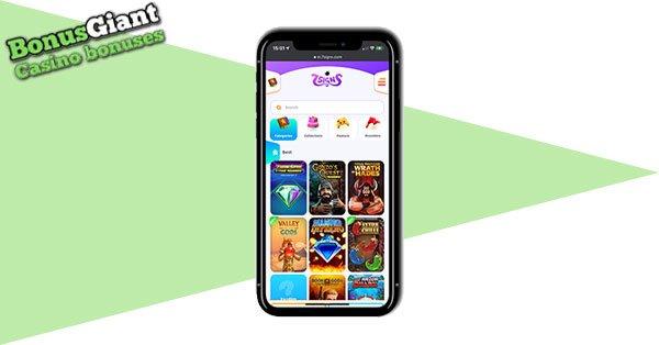 Tangkapan layar 7Signs Casino Mobile