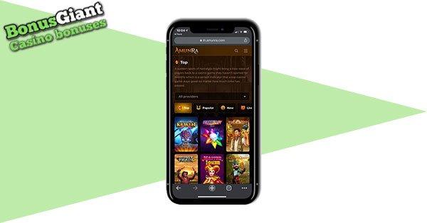 AmunRa Casino Mobile