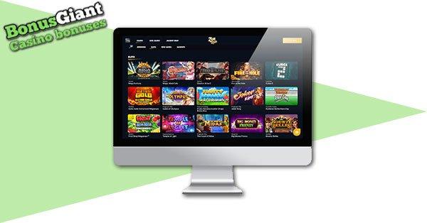 ZenSpin Casino Screenshot Desktop