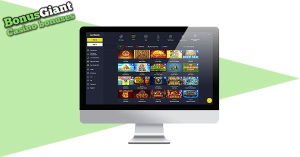 Desktop GetSlots Casino