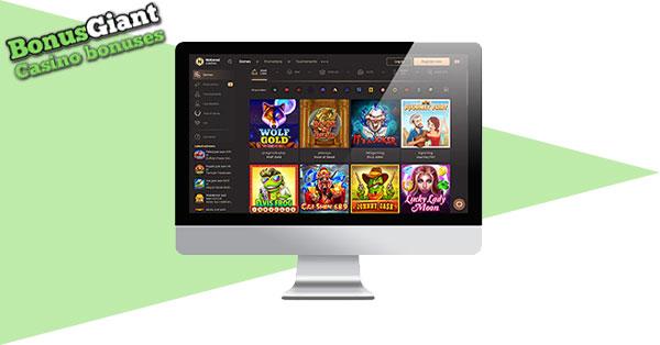 National Casino desktop
