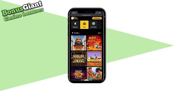 Tetap mobile Casino