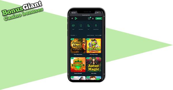 GreenSpin Mobile Casino