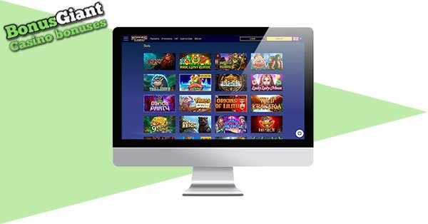 Konung Casino desktop