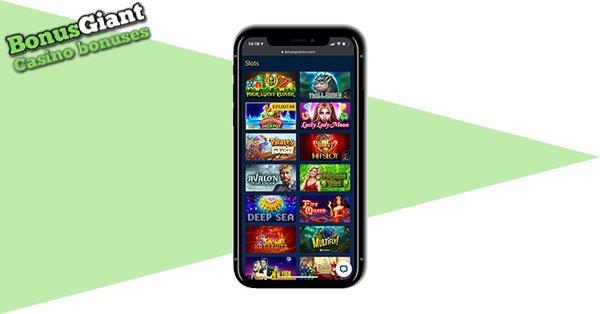 Konung Casino mobile