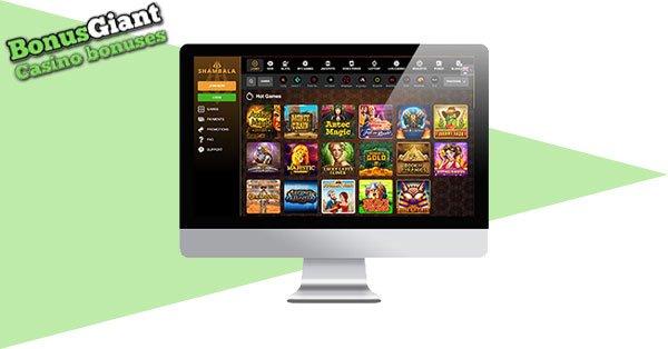 Shambala Casino Desktop
